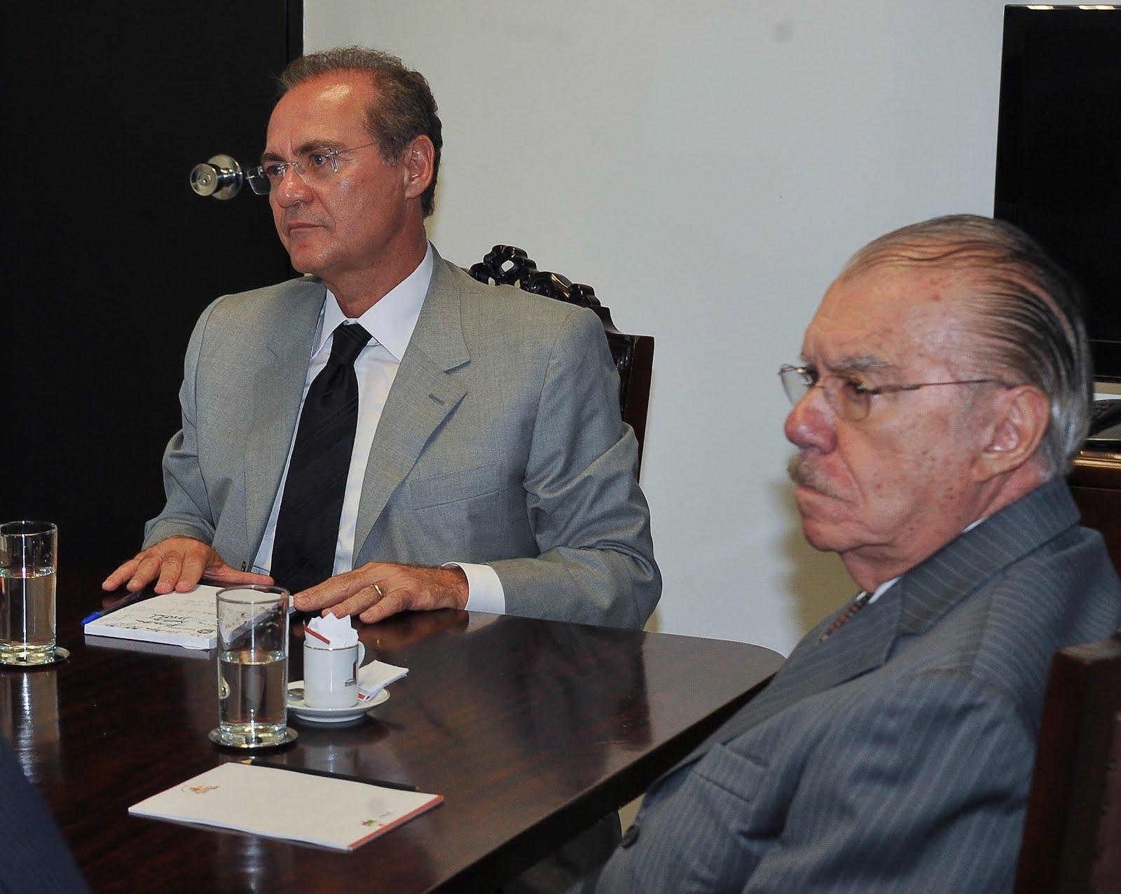 Novas gravações relacionam Demóstenes Torres ao jogo ilegal - Sarney e Renan Calheiros1