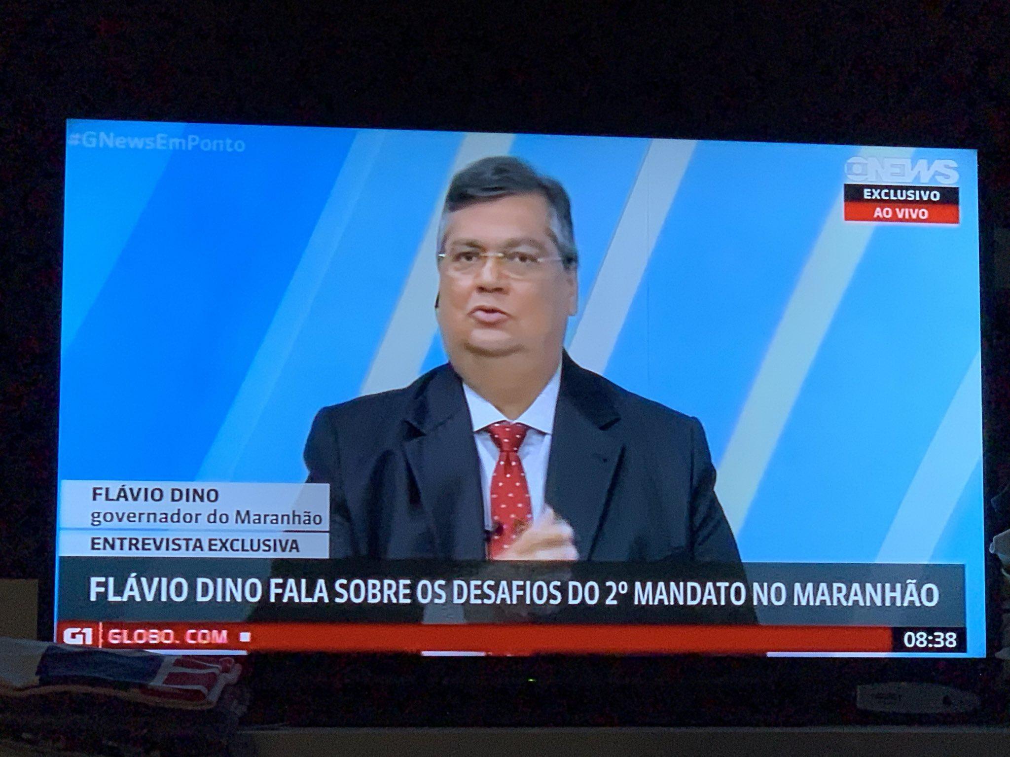 Na GloboNews, Flávio Dino defende criação da Guarda Nacional, com 10