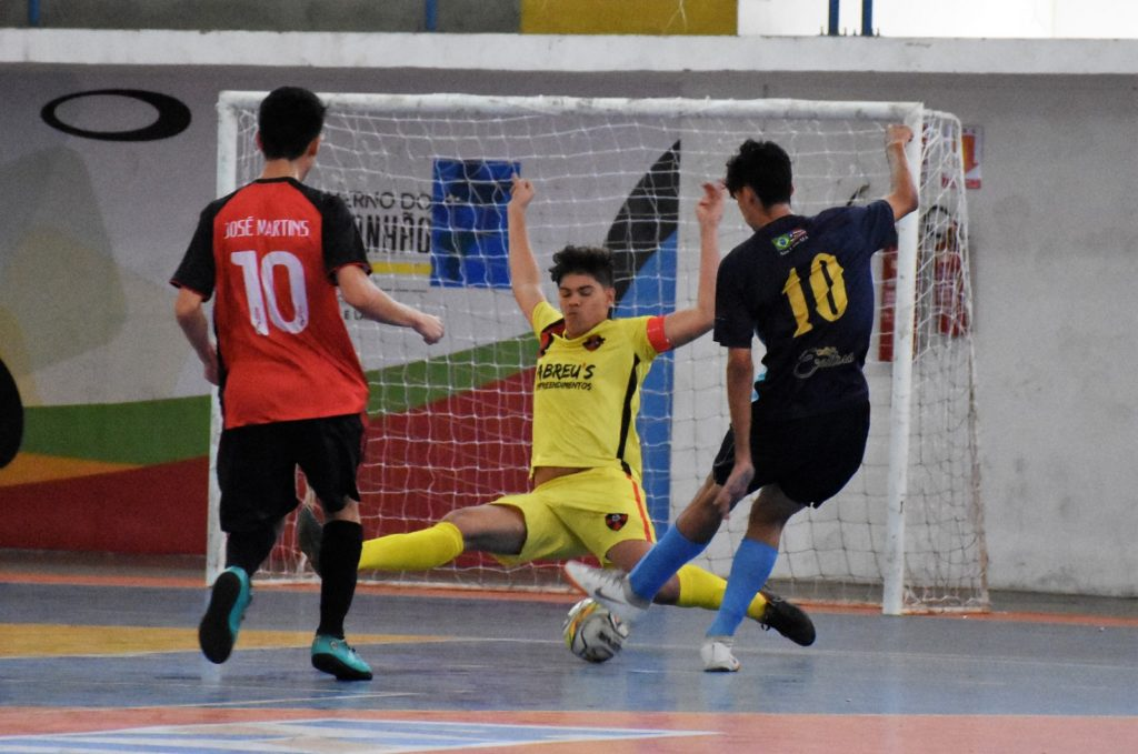 Rodada de muitos gols no Maranhense de Futsal - Jonny Figueiredo ba8d8ec347459
