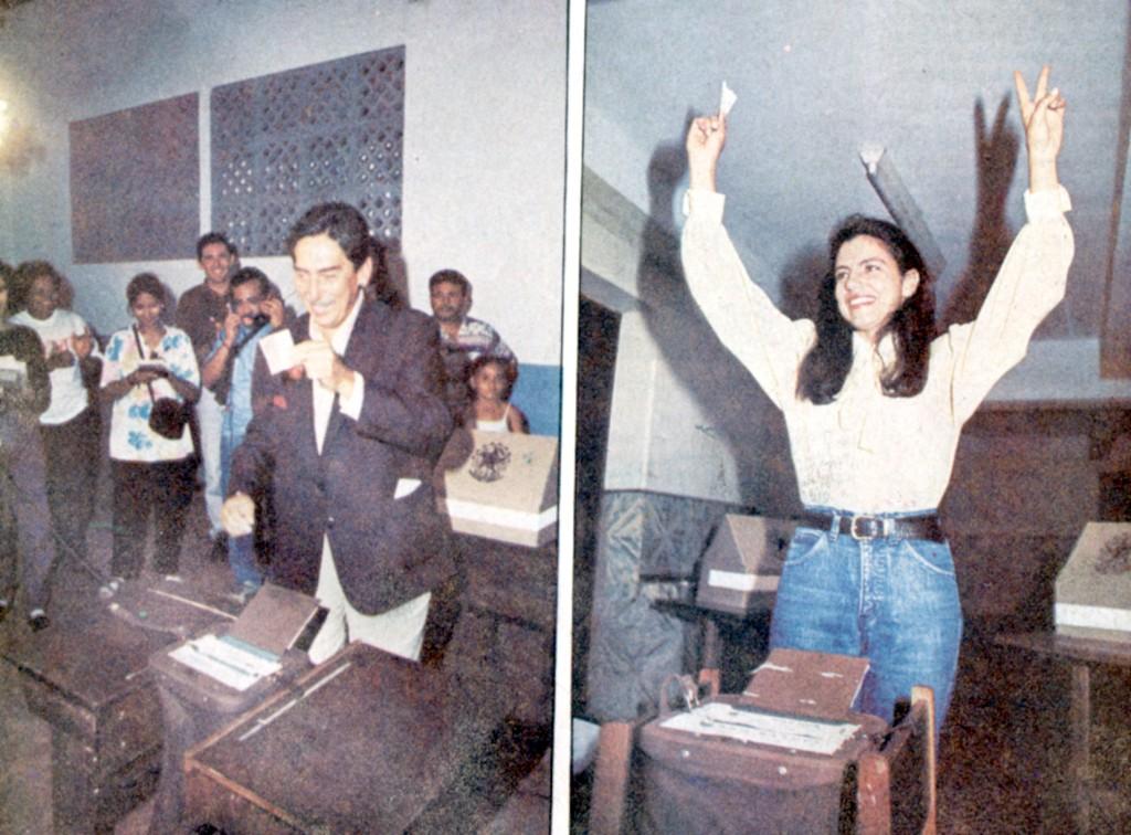 15 de novembro de 1994 – Cafeteira vai às urnas, no segundo turno, sob pesado esquema para eleger Roseana
