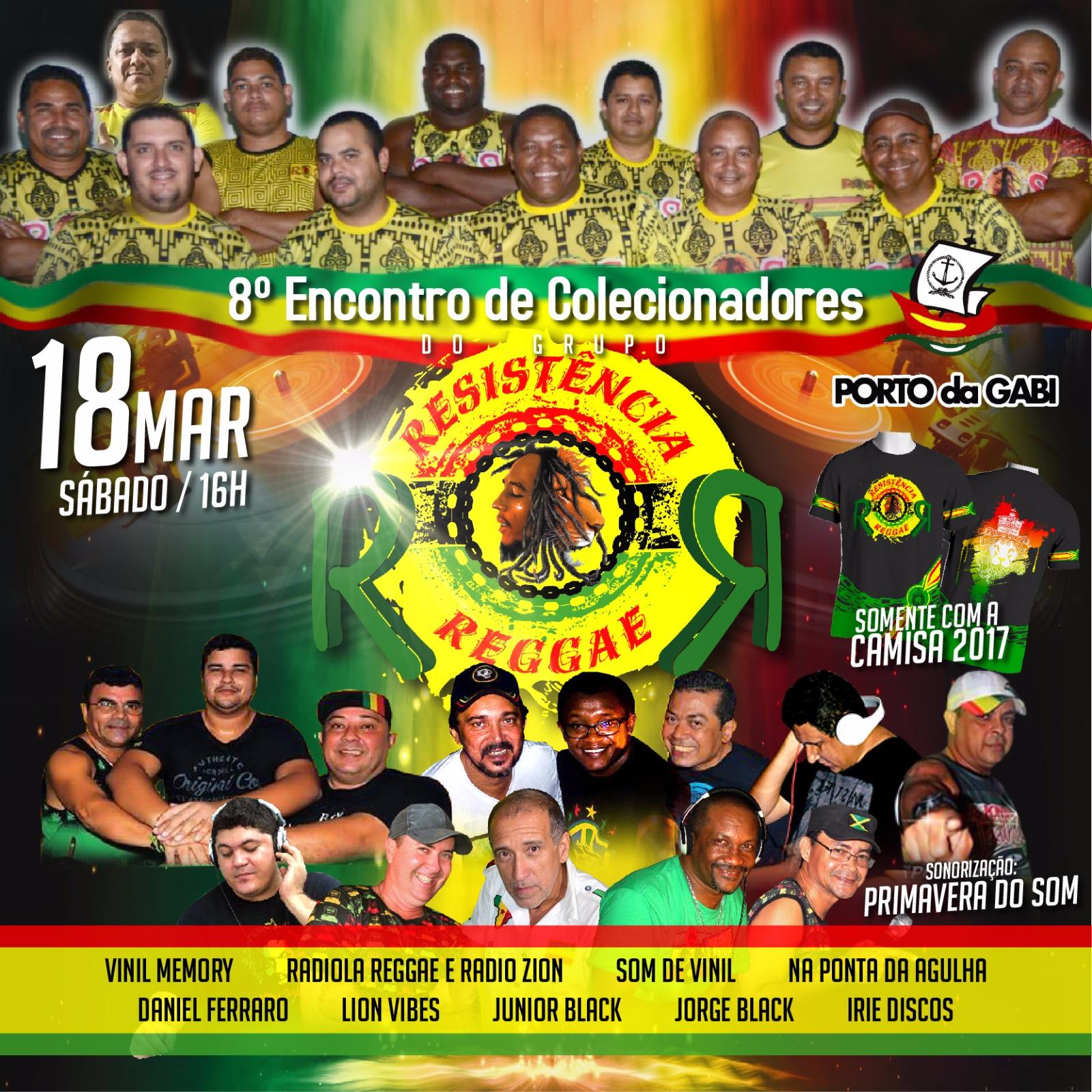 """8º Encontro do Grupo de Colecionadores """"Resistência Reggae"""" acontece neste  sábado bda1f72ff548b"""